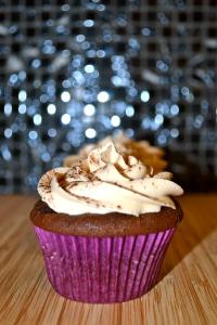 Chocolate Mocha Cake with Creamy Irish Buttercream