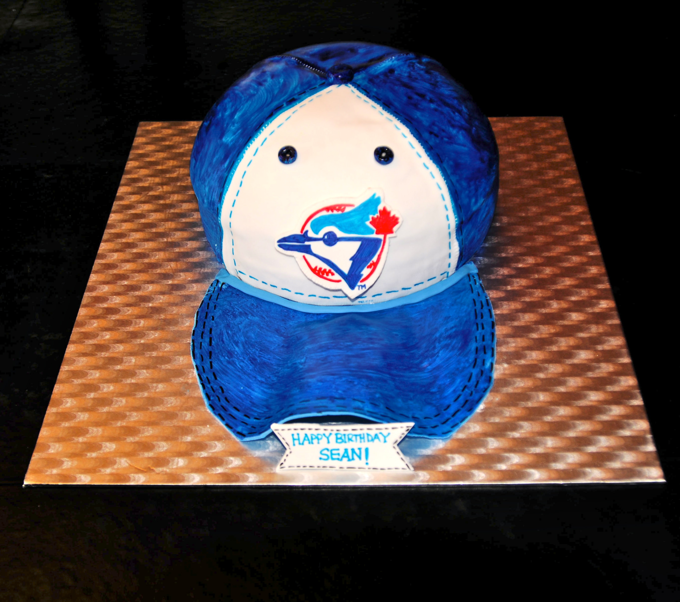 Blue Jays Cake Images : Custom Cakes Sugar Mamas Dessert Co.