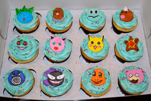 Pokemon Cupcakes Sugar Mamas Dessert Co. Carolyn Horbaczyk